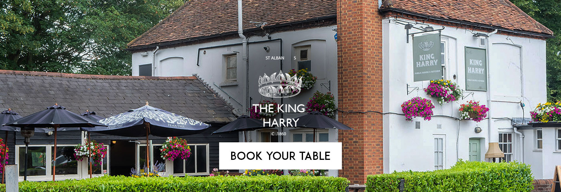 Book Your Table at The King Harry